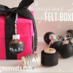 DIY: Gorgeous Felt boxes