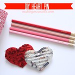 DIY Heart Pin