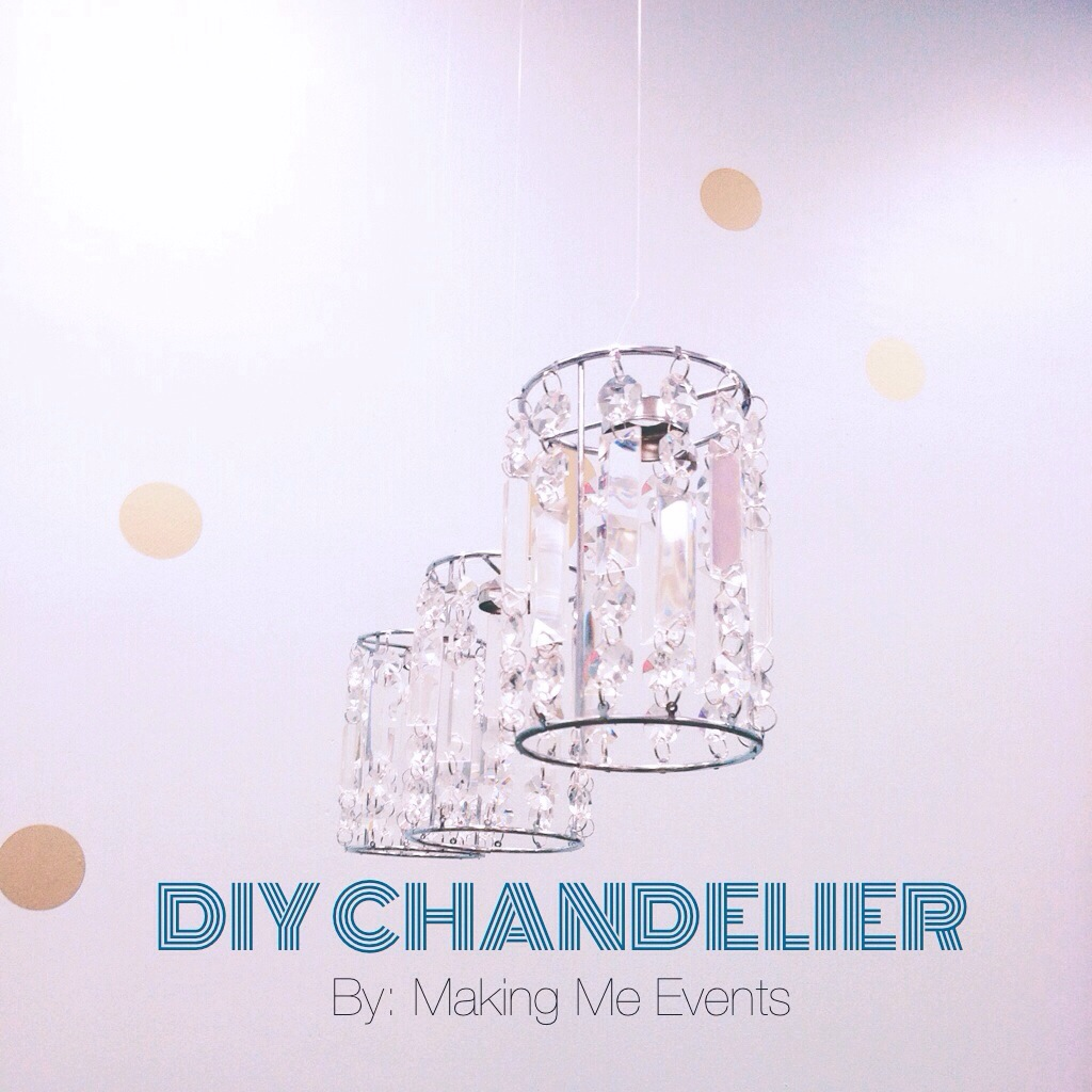 DIY Chandelier by Making Me Events