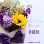 Birthday Flower Mix