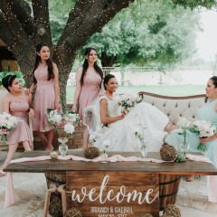 Spring Outdoor Wedding